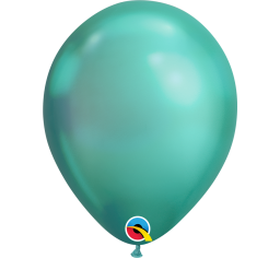 30cm Chrome Green Balloon