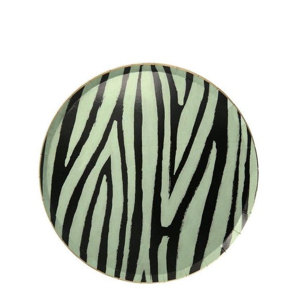 Safari Animal Print Plates