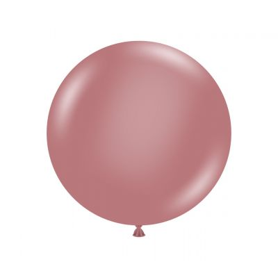 60cm Jumbo Round Balloon - Canyon Rose
