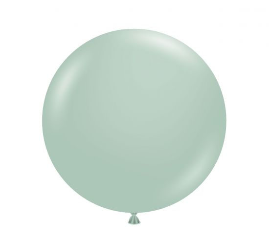 60cm Jumbo Round Balloon - Empower Mint