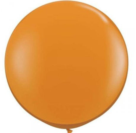 90cm Jumbo Round Balloon - Orange