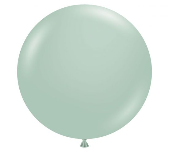 90cm Jumbo Round Balloon - Empower Mint