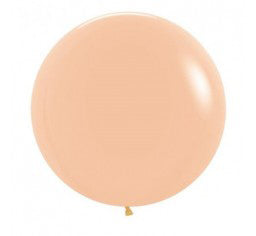 60cm Jumbo Round Balloon - Blush Peach