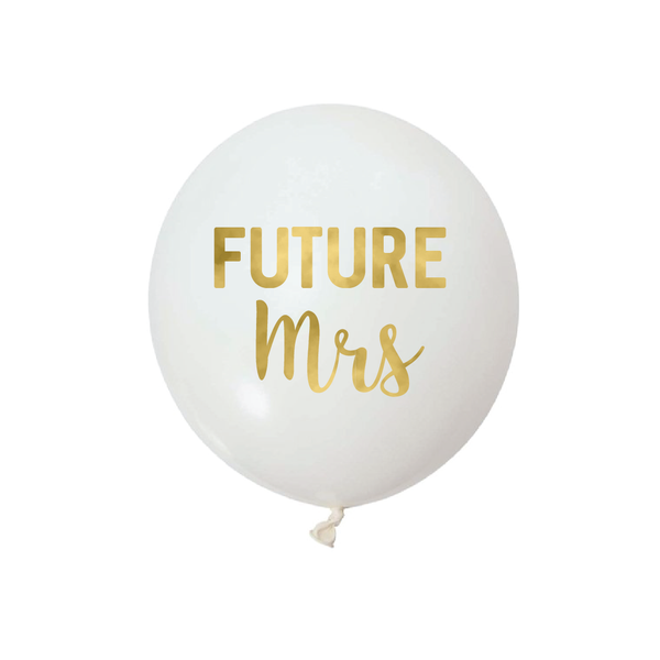 Future Mrs -  Vinyl Balloon Stickers