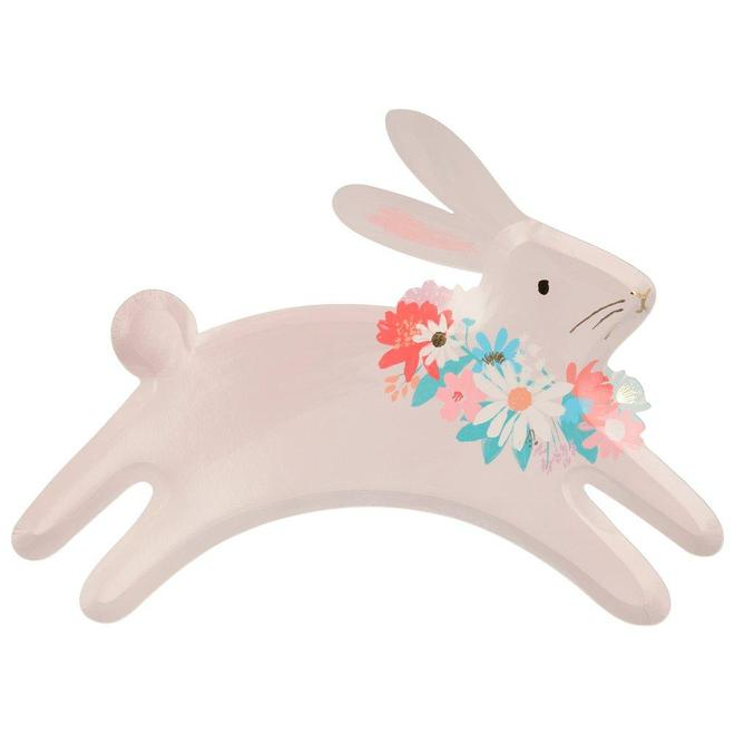 Leaping Bunny Paper Plates