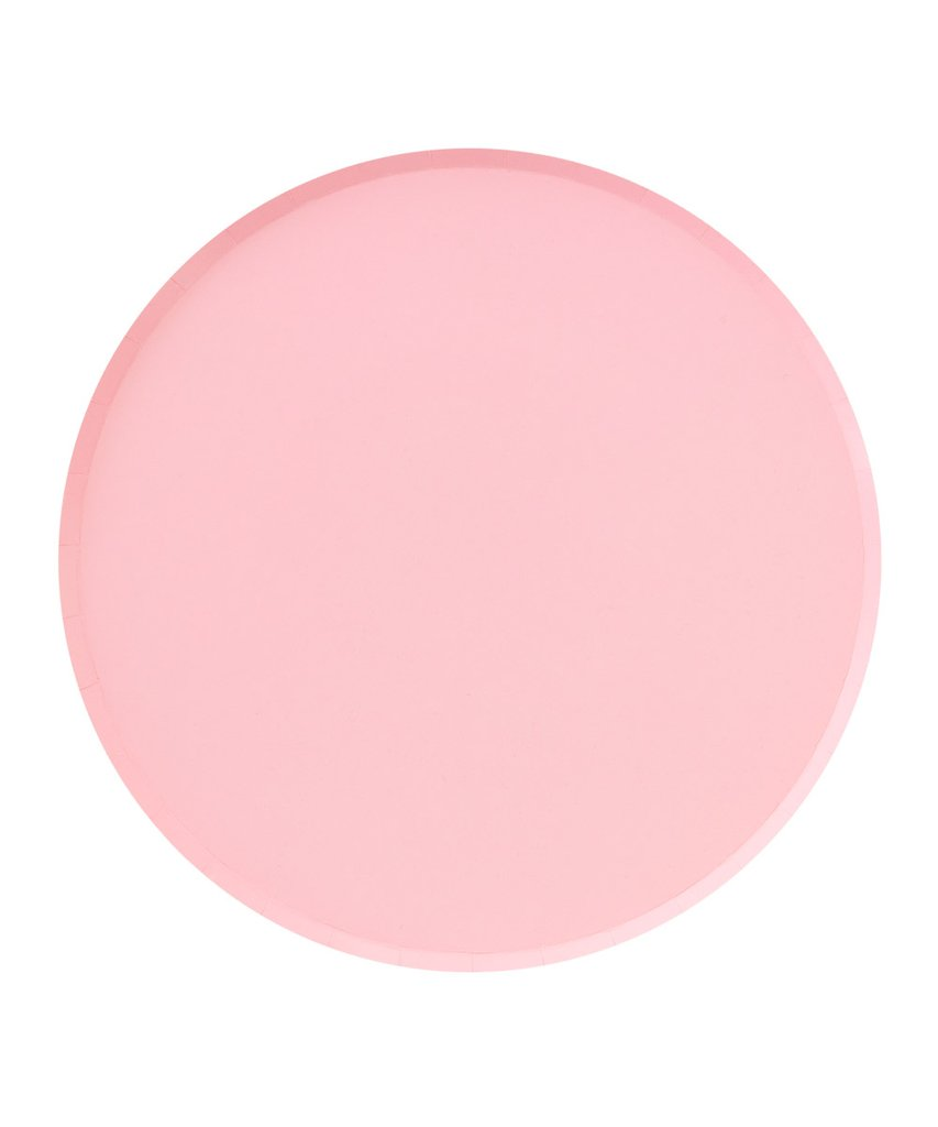Oh Happy Day Large Plates - BLUSH