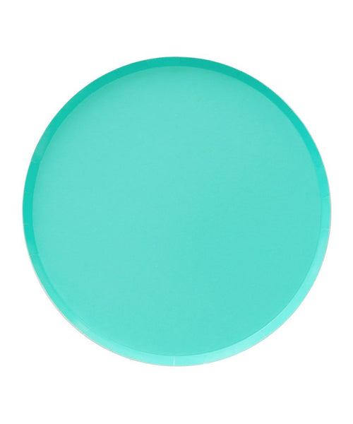 Oh Happy Day Large Plates - TEAL