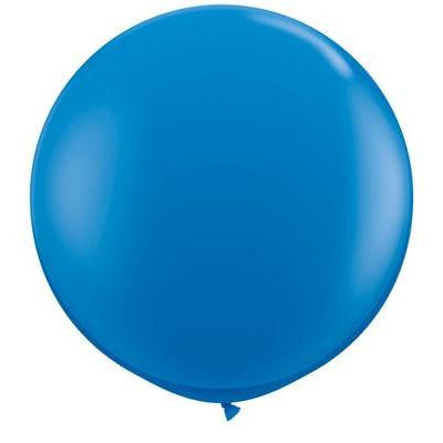 Jumbo Round Balloon - Dark Blue