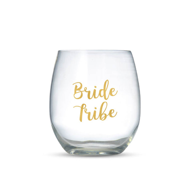 BRIDE TRIBE -  Vinyl Wine Glass Stickers
