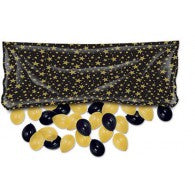 Balloon Release Drop Bag - Black + Gold