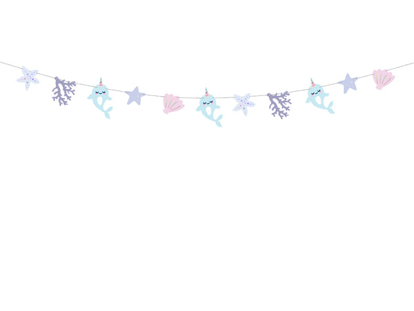 Narwhal Under the Sea Garland Kit