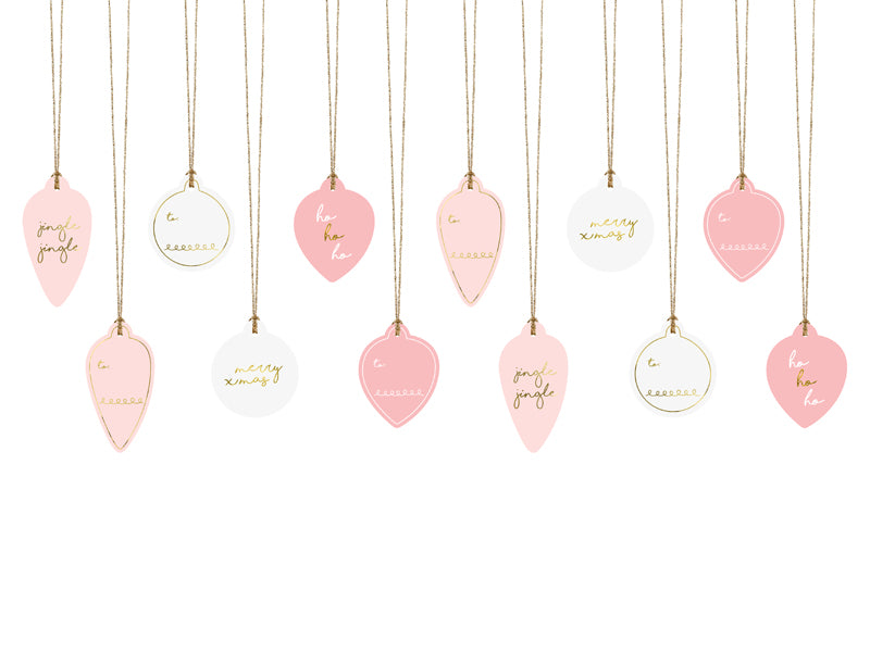 Christmas Bauble Gift Tags