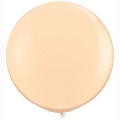 90cm Jumbo Round Balloon - Blush