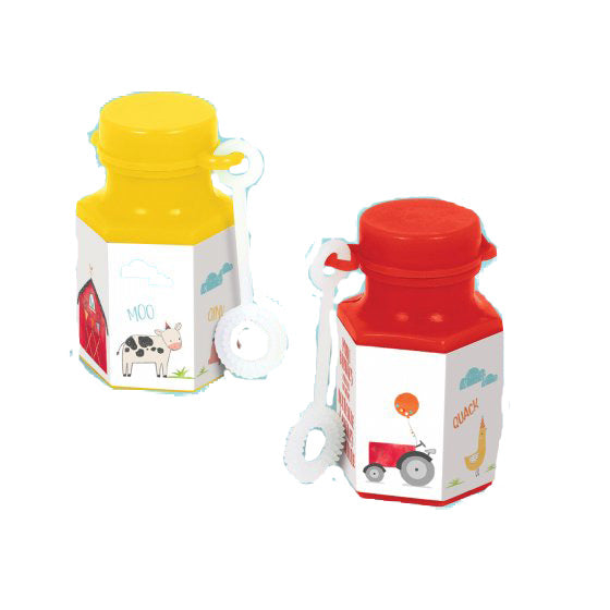 Barnyard Bubbles Party Favour