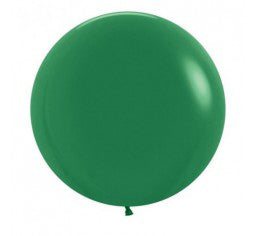 60cm Jumbo Round Balloon - Forest Green