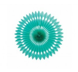 Paper Fan - Classic Turquoise