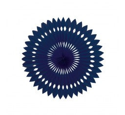 Paper Fan - Navy Blue
