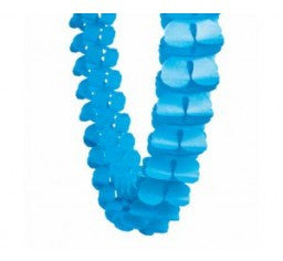 True Blue Honeycomb Garland