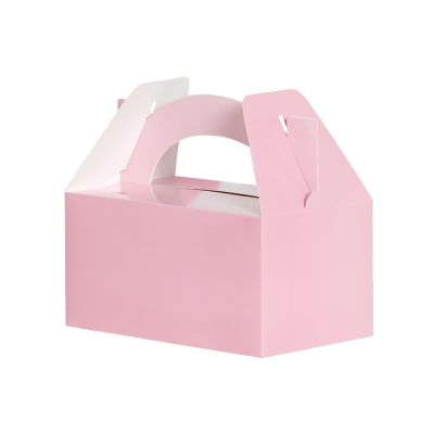 Lunch Box/Treat Box Classic Pastel Pink 5pk