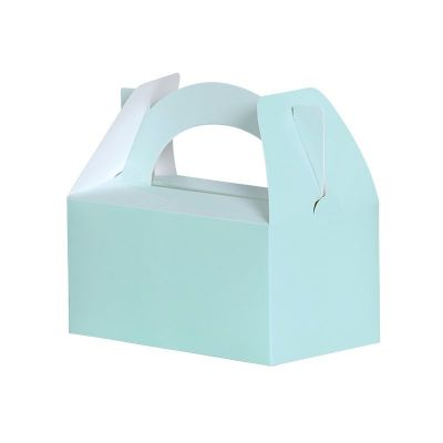 Lunch Box/Treat Box  Pastel Mint Green 5pk