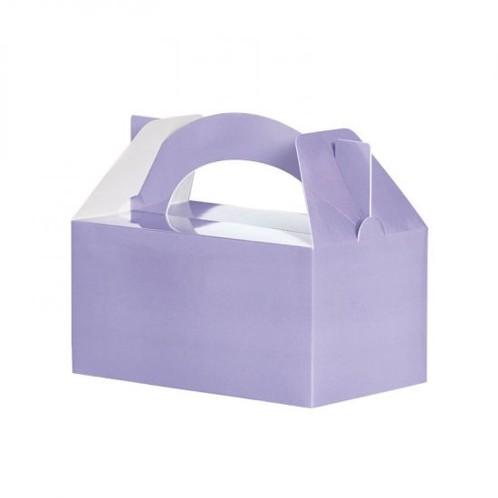 Lunch Box/Treat Box Classic Pastel Lilac 5pk