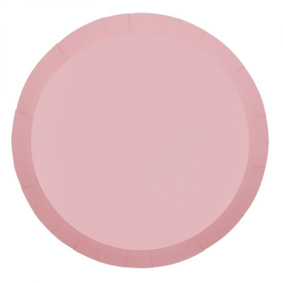 Classic Pastel Pink Dinner Plates