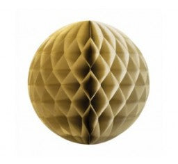 Honeycomb Ball - Metallic Gold