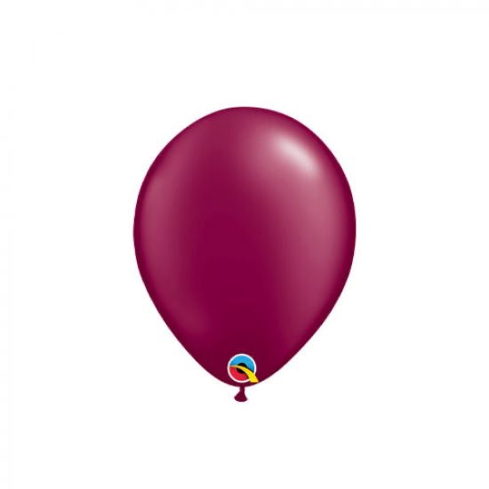 Pearl Burgundy 12cm Mini Balloon