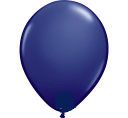 Navy Blue 12cm Mini Balloon