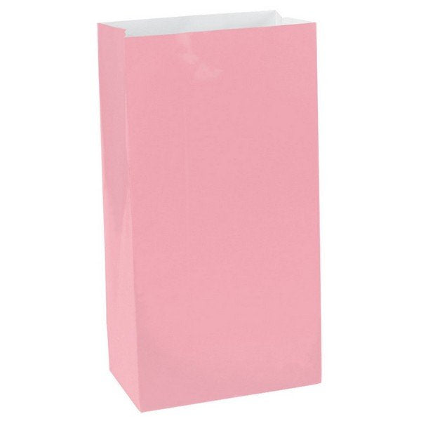New Pink Paper Party Bags