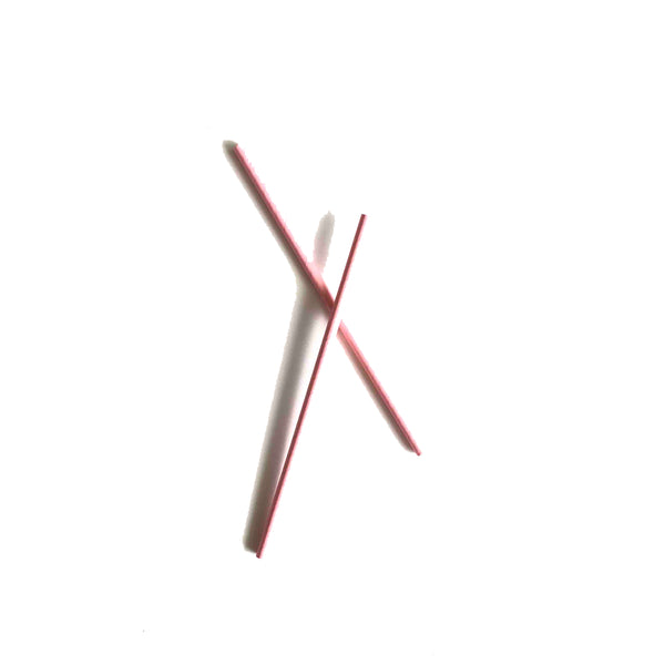 Pale Pink Paper Straws