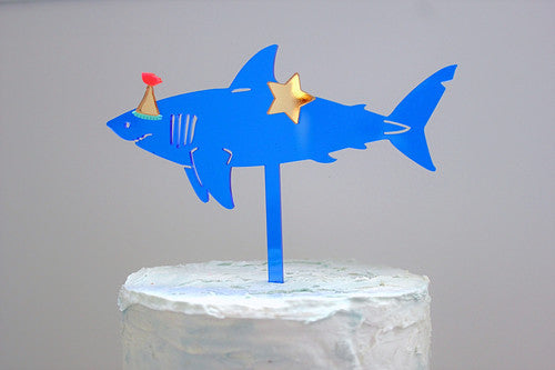 Party Shark Cake Topper