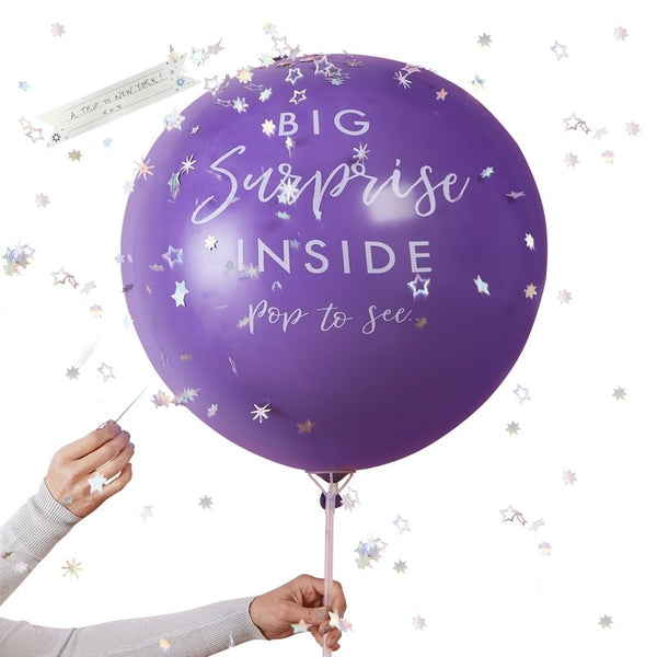 Surprise Gift Reveal Balloon