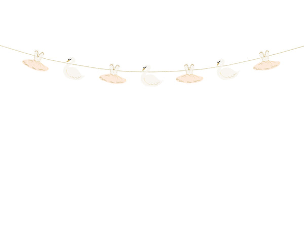 Lovely Swan Ballerina Garland