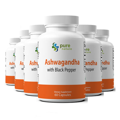 PureNature Ashwagandha (with Black Pepper)
