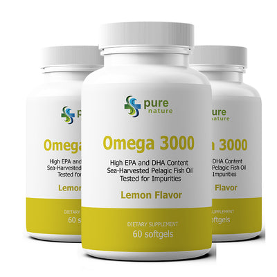 PureNature Omega 3000