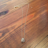 Dainty Knot Necklace