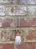 Shake Your Tailfeather Necklace