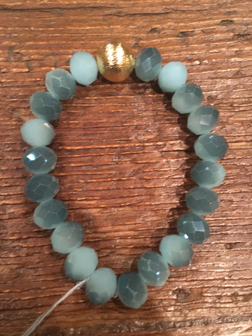 Blue Variation Crystal Bracelet