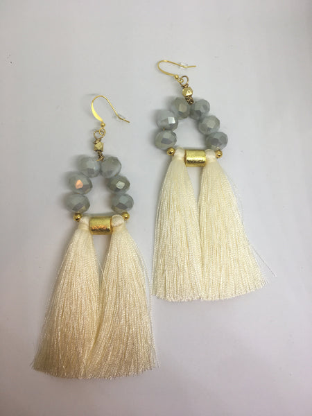 The Olivia Earrings- Mint