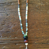 Fun & Colorful Horn Necklace
