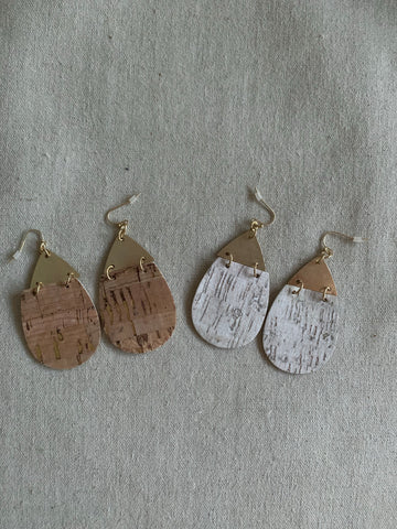 The Corked Out Earrings