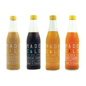 Pack of 4 Cold Brew - Tea & Coffee