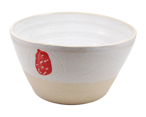 Red Flowers Bowl