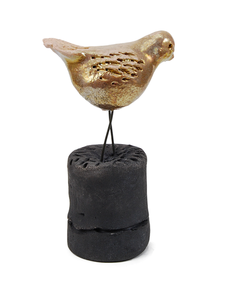 Gold Bird on Base