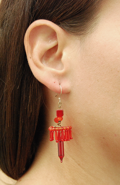 Earrings by Psit