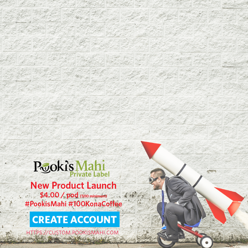 Design your new product launches with Pooki's Mahi private label product services
