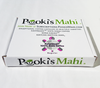 Pooki's Mahi custom pods manufacturer includes free box packaging for custom 100% Kona coffee pods and Hawaiian coffee single serve.