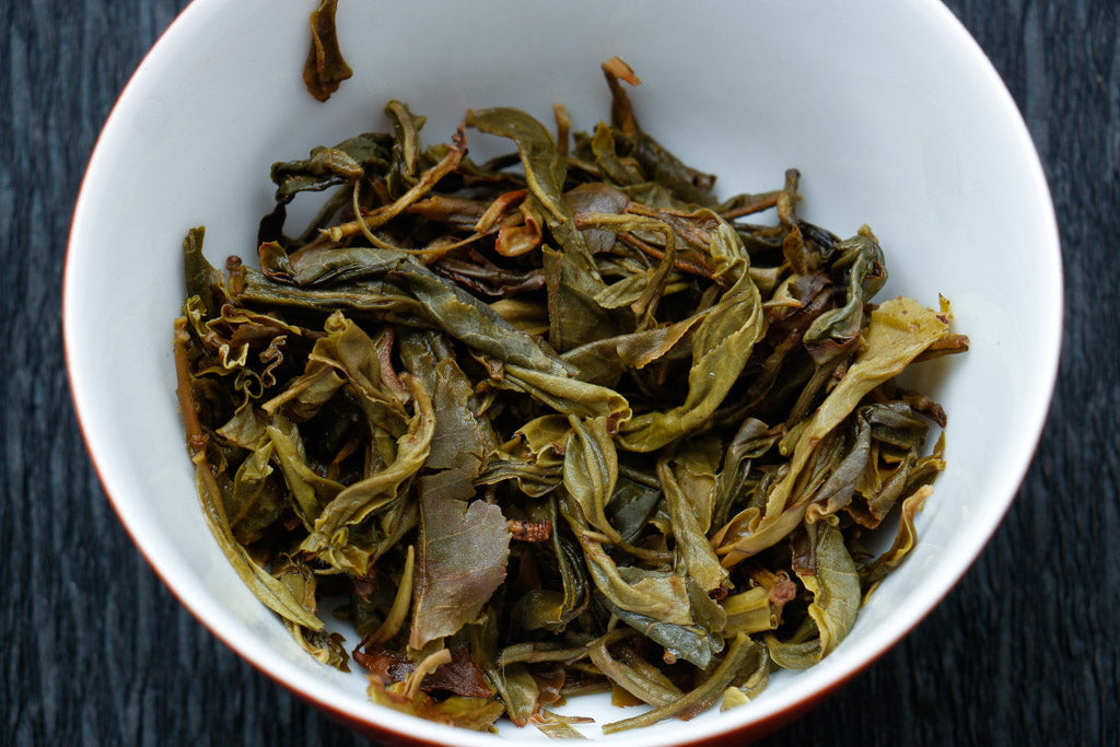 zhenyuan pu-erh tea leaves