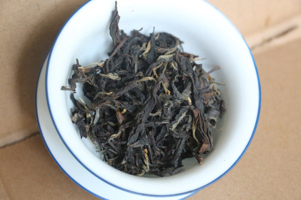 Spring 2019 Jingmai Sun-Dried Black -- Short oxidation